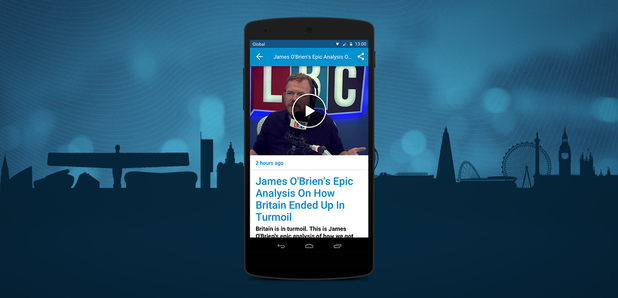 Listen To LBC On Android - LBC