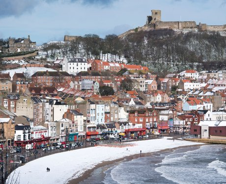 Scarborough's North Bay in the snow
