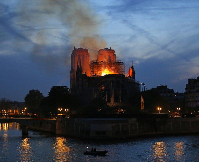 "French President Emmanuel Macron said he was ""so s"