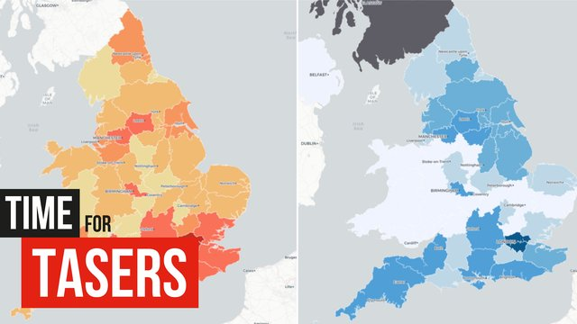 How Dangerous Is Your Area For Police Officers?